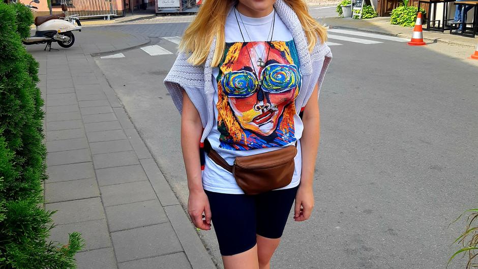 Mano mėgstamiausi personažai – ant marškinėlių 🍭🍭