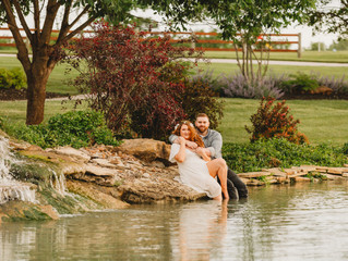 Faith & Caije Engagement Session at Rose Blossom Hill
