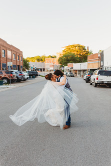 Sarah & Marshall's Beautiful Wedding Day at the Montgomery Event Venue   Excelsior Springs, MO