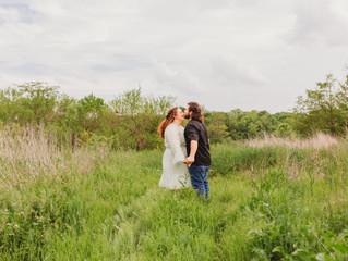 Sarayah & Alex Engagement Session | Rose Blossom Hill