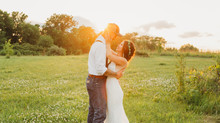 Austin and Jenna Storts | Beautiful Backyard Wedding