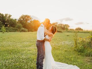 Austin and Jenna Storts | Beautiful Backyard Wedding