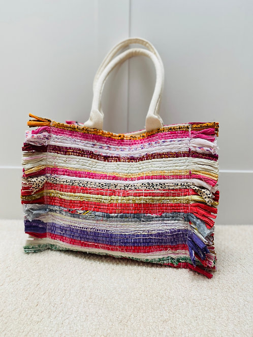 Recycled Sari Bag Small