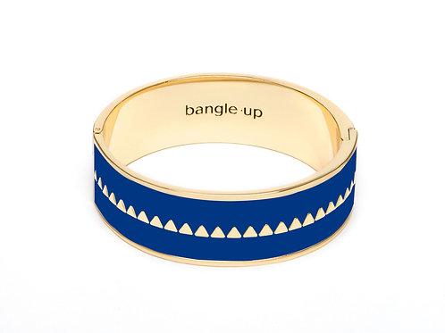 BangleUp Bracelet 2cm Bollystud Delft Blue
