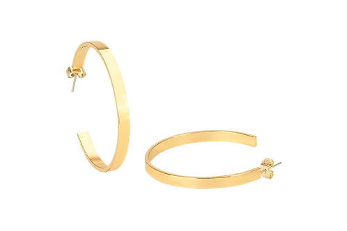 Bangle Up Earrings Hoops ( in 7 colours)