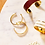 Thumbnail: Bangle Up Earrings Hoops ( in 7 colours)