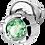Thumbnail: Silver Earrings with Peridot