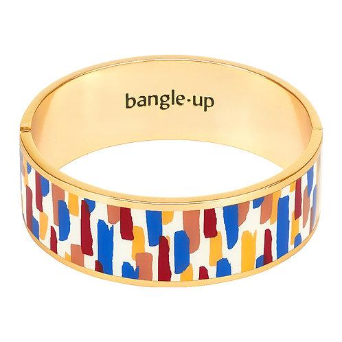 Bangle Up Zellige 2cm Bracelet Majorelle Blue