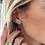 Thumbnail: Dear Charlotte SatisTurquoise Earrings