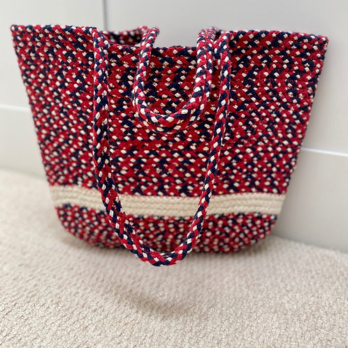 Multicoloured Sarah tote bag