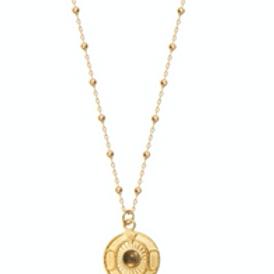 Dear Charlotte vintage necklace with Labradorite