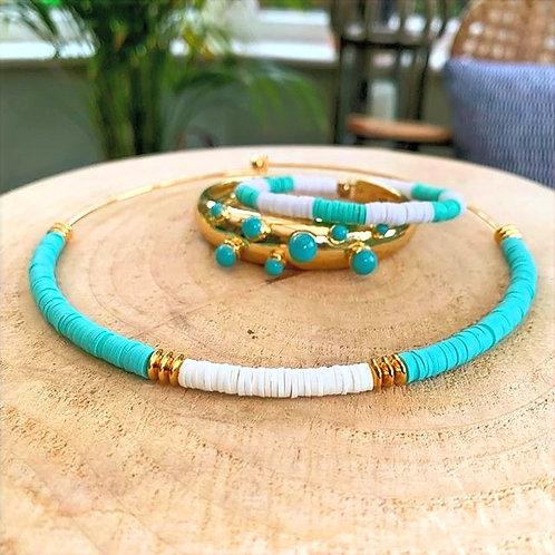 Dear Charlotte Turquoise Bracelet