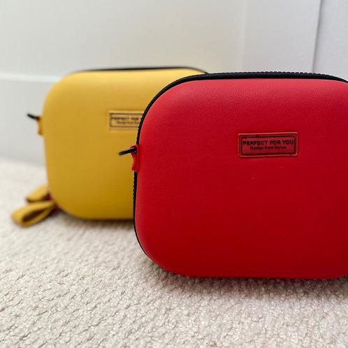 Mustard cross body handbag