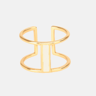 Bangle Up Adjustable Stacking Lune Ring