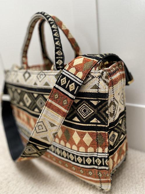 Multicoloured Tote Bag