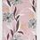 Thumbnail: Floral pink scarf