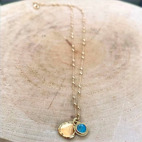 Dear Charlotte Necklace 24k gold plated chain