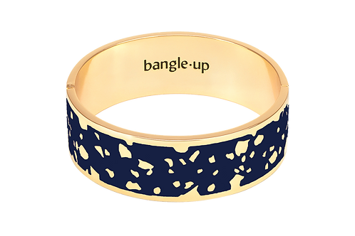 Bangle Up Bracelet 2 cm Lucy Dark Blue