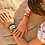 Thumbnail: Bangle Up Bracelet 2 cm Lucy Dark Blue