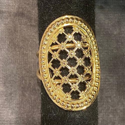 Dear Charlotte Vintage Adjustable Ring