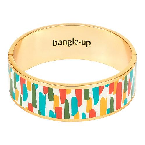 Bangle Up ZeLLige 2cm Bracelet Ceramic Blue ( size 1 & 2)