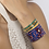 Thumbnail: Bangle Up Bollystud Bangle 0,44cm ( in 4 colours)