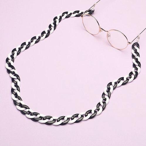 Balck & White Glasses Chain