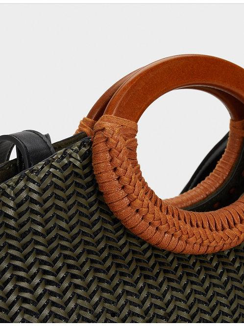 Kaki handbag