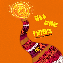 """Artwork for the music album """"All One Tribe"""" by 1 Tribe Collective, streaming on WEE Nation Radio"""