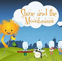 "Artwork for the music album ""Shine and The Moonbeams"" by Shine and The Moonbeams, streaming on WEE Nation Radio"