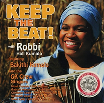 "Artwork for the music album ""Keep the Beat!"" by Robbi Kumalo, streaming on WEE Nation Radio"