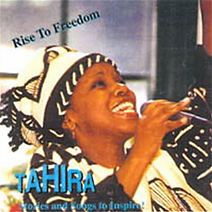 "Artwork for the music album ""Rise to Freedom"" by TAHIRA, streaming on WEE Nation Radio"