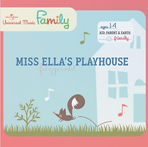 "Artwork for the music album ""Miss Ella's Playhouse"" by Ella Fitzgerald, streaming on WEE Nation Radio"