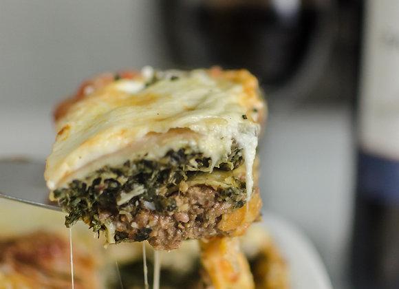 Lasagna Rellena Individual