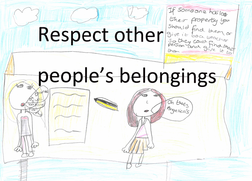 Respect other people's