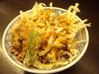 Taruログ1 蓬莱吉日庵さんの白魚天丼