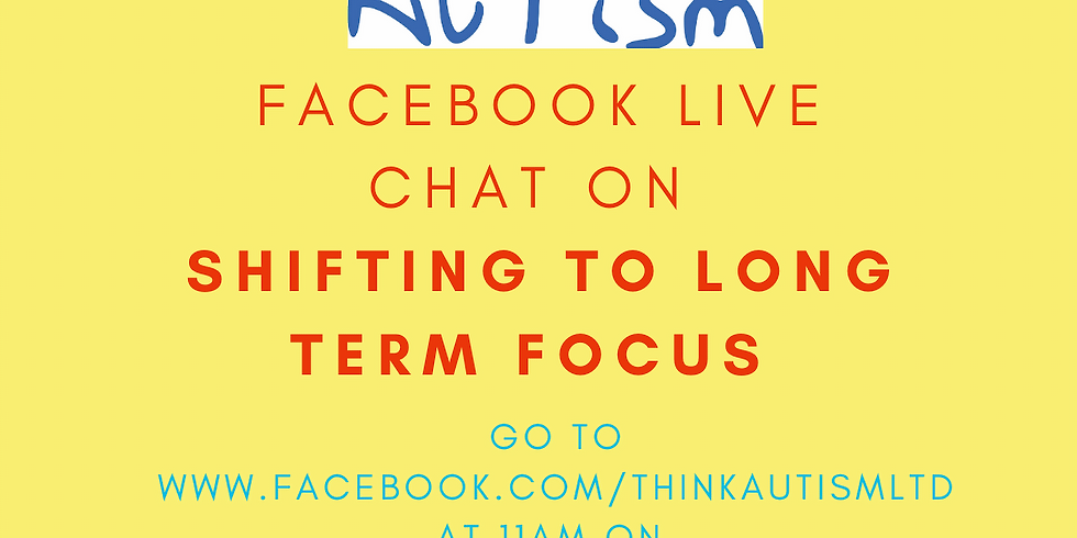 Facebook Live Chat on Shifting to a Long Term Focus