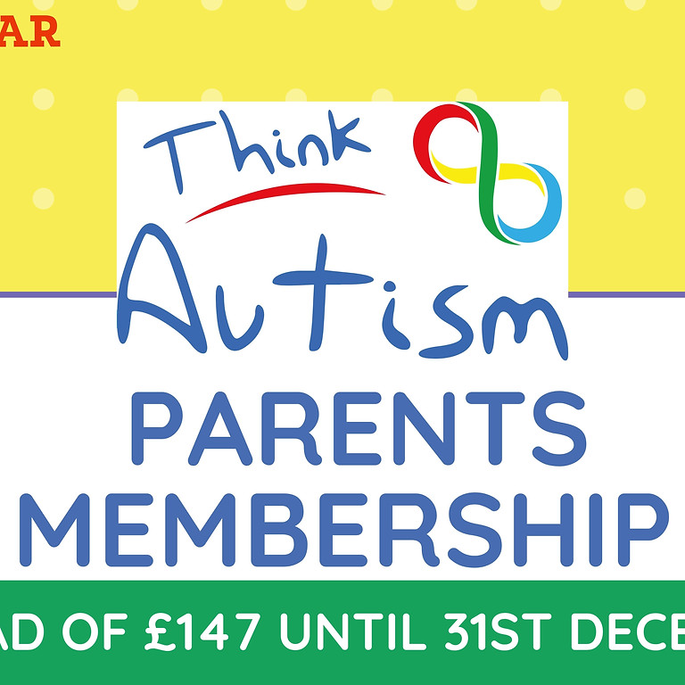 Think Autism Parents Membership Offer