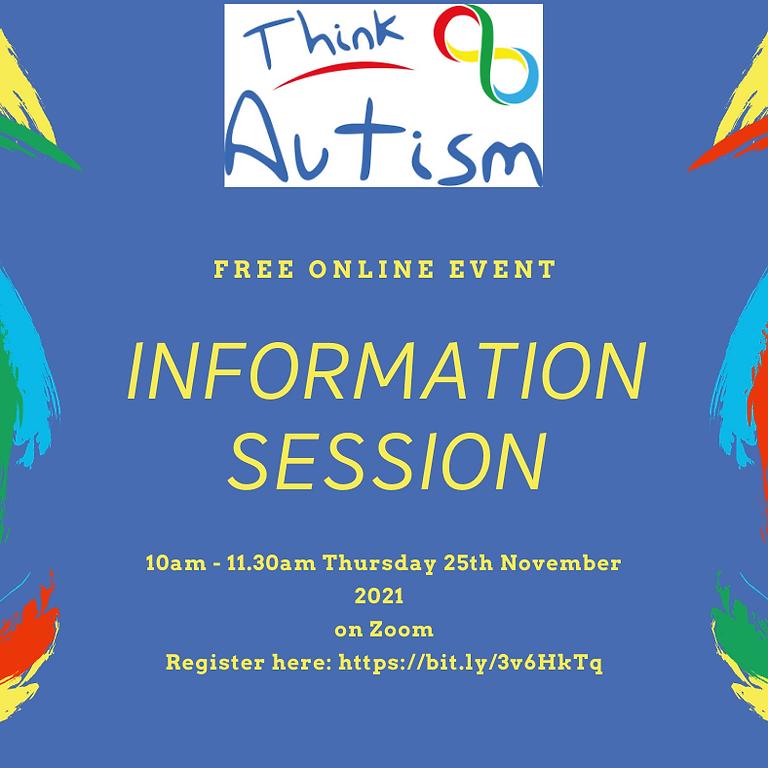 Think Autism Information Session for Parents