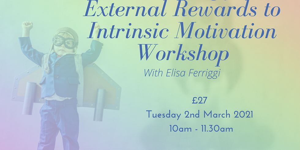 Transitioning from External Rewards to Intrinsic Motivation