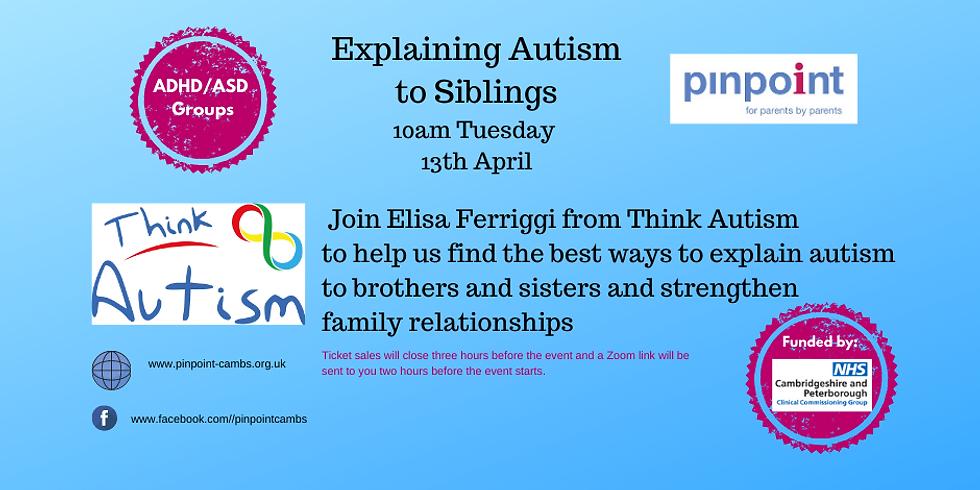 Explaining Autism to Siblings Workshop