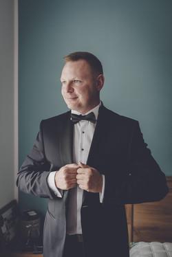 przygotowania ślubne pana młodego