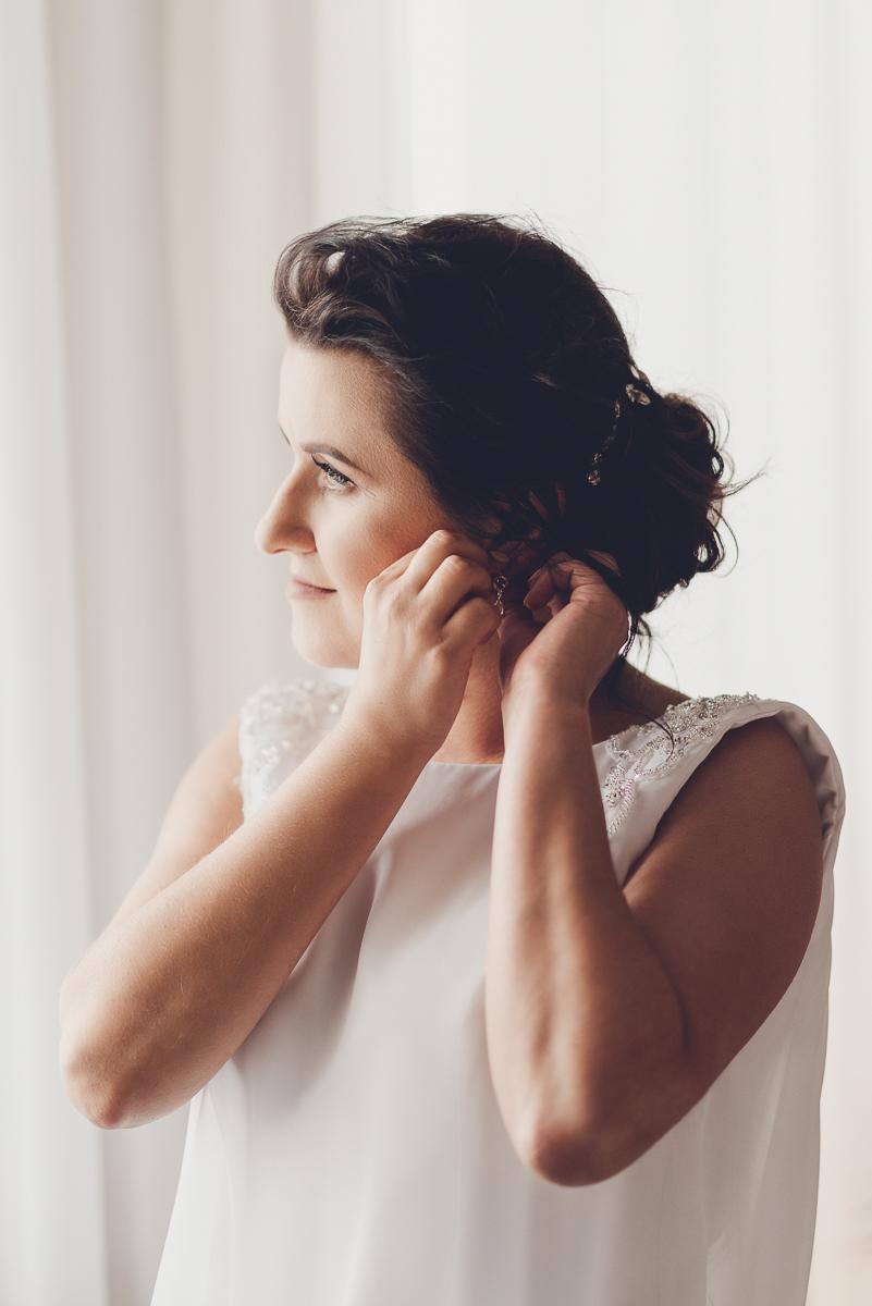 Przygotowania ślubne panny młodej