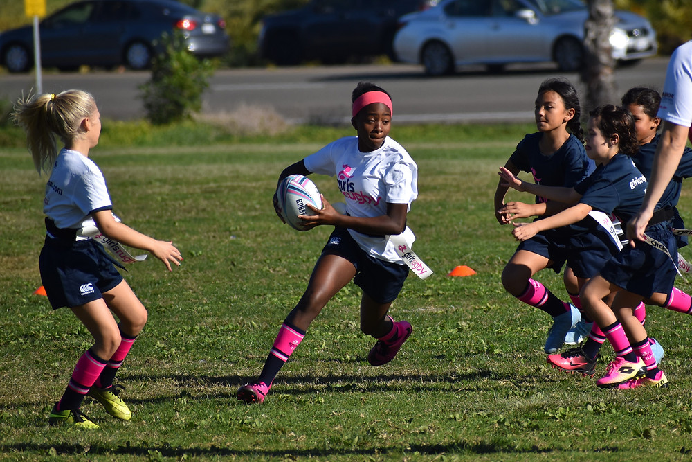 Girls Rugby in Action