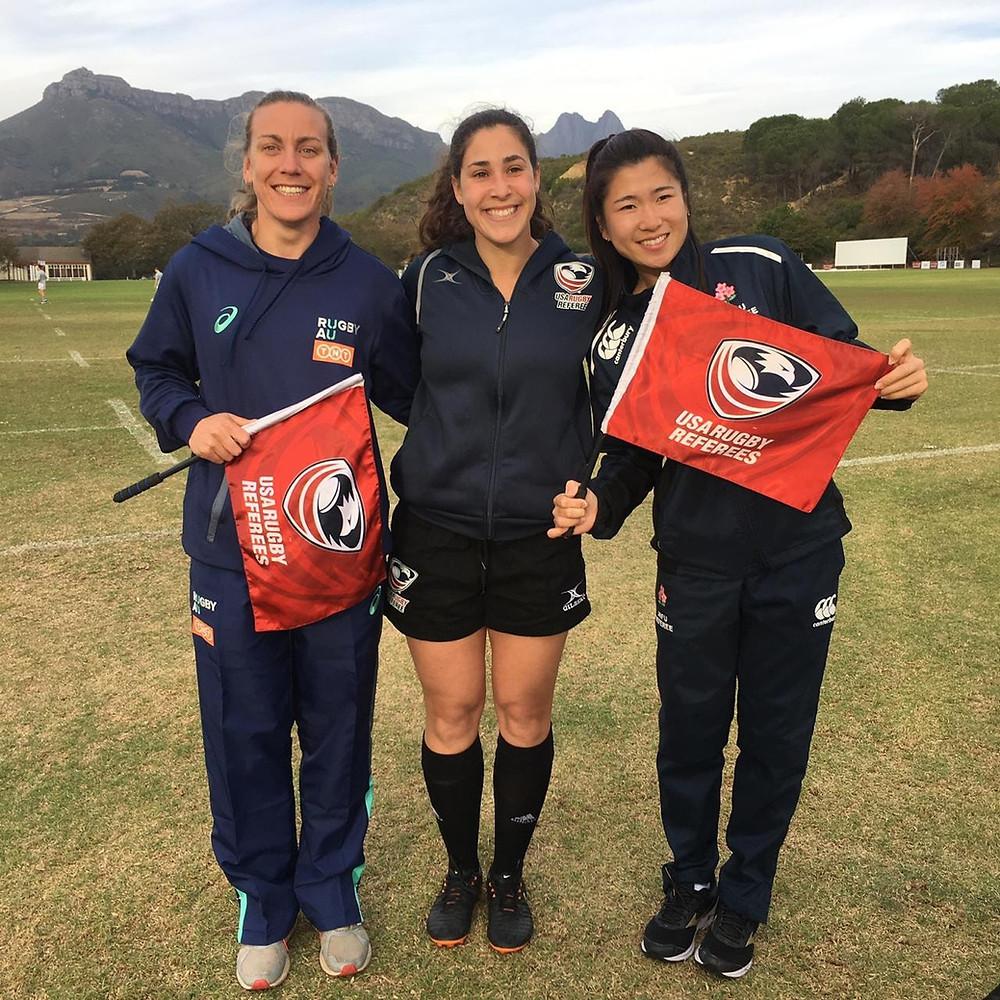 Amber MacLachlan (AUS), Amelia Luciano (USA), Sakurako Kawasaki (JPN)