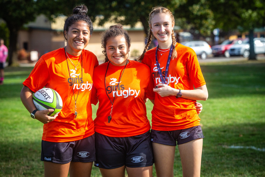 Girls Rugby Referees