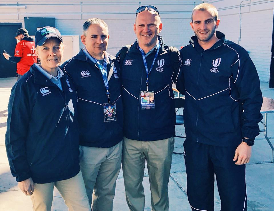 Anderson (left) at the USA 7s / Photo courtesy RRSNY