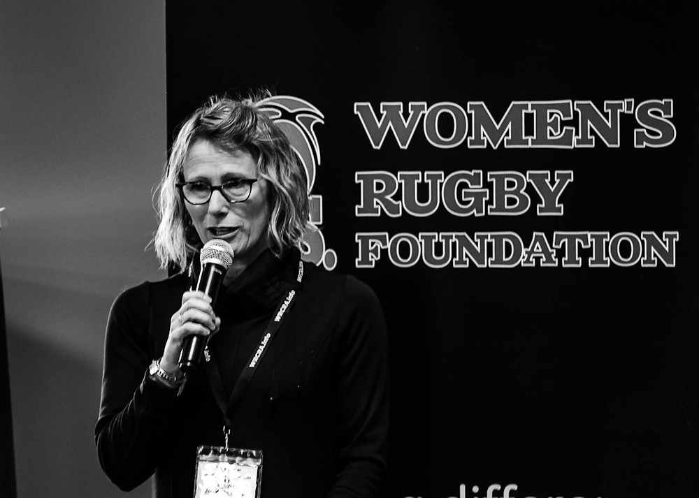 LaVoi at the Women in Rugby Conference / Photo: K J Paynter