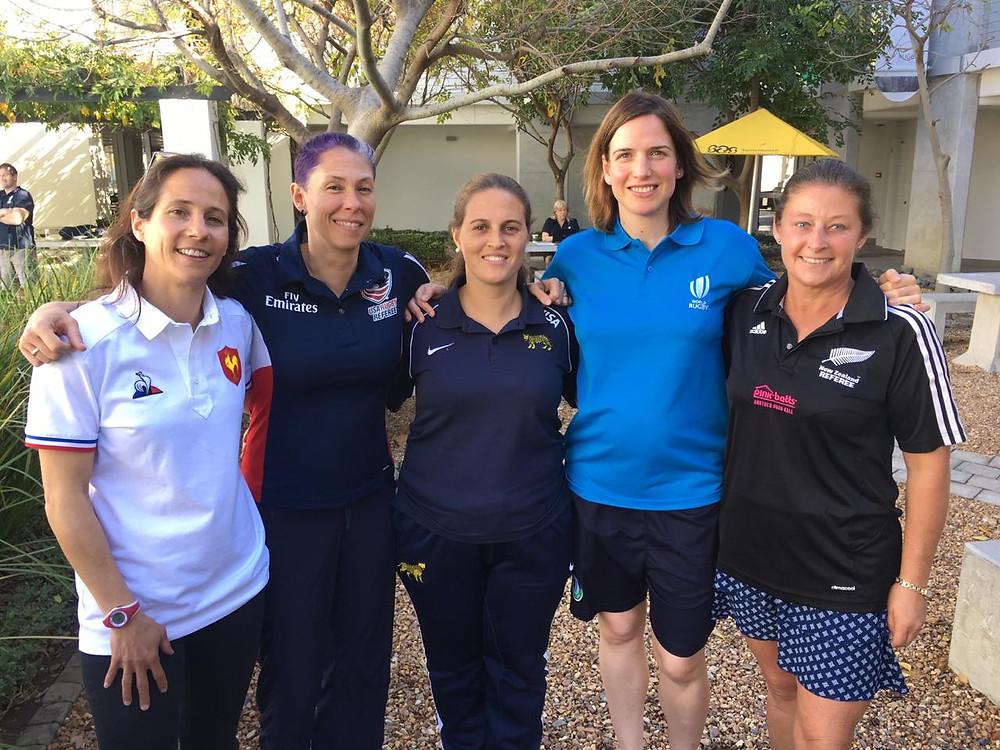 Marie Lematte (FR), Amanda Cox (USA), Laureanna Pappaterra (ARG), Alhambra Nieves, Nicky Ewins (NZ)