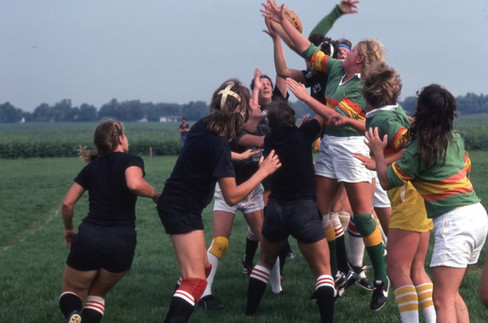 Mid-West Womens Rugby Champs 1979 Chicago